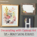 Decorating with Canvas Art