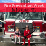 Fire Prevention Week in Des Moines