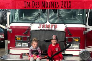 Fire Prevention Week, Des Moines, Iowa