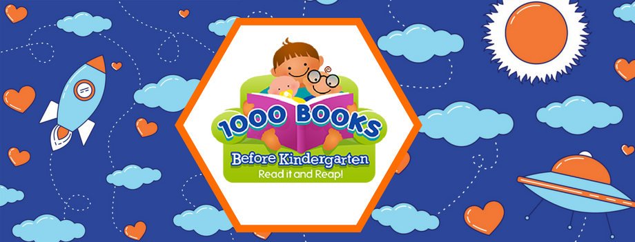 kindergarten, 1,000 books before kindergarten, reading