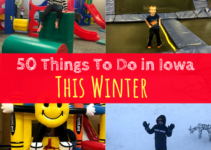 Iowa, Des Moines, Winter