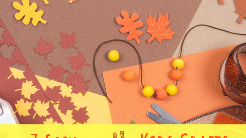 7 Easy Fall Kids Crafts