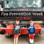 Fire Prevention Week, Des Moines, Iowa, Fire department, fire safety, Iowa