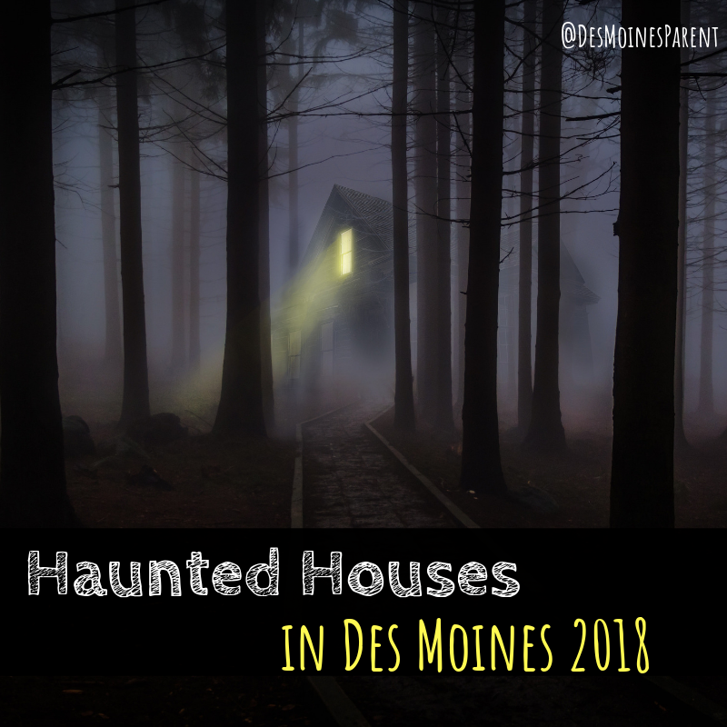 halloween haunted houses des moines