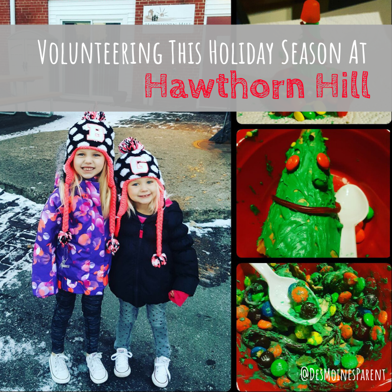 Hawthorn Hill, volunteering, holiday season