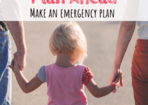 planning, emergency plan, family
