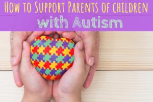 autism, parenting, support