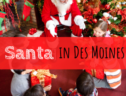 Des Moines, Iowa, Santa, Christmas, holidays, holiday season, events, Santa Clause