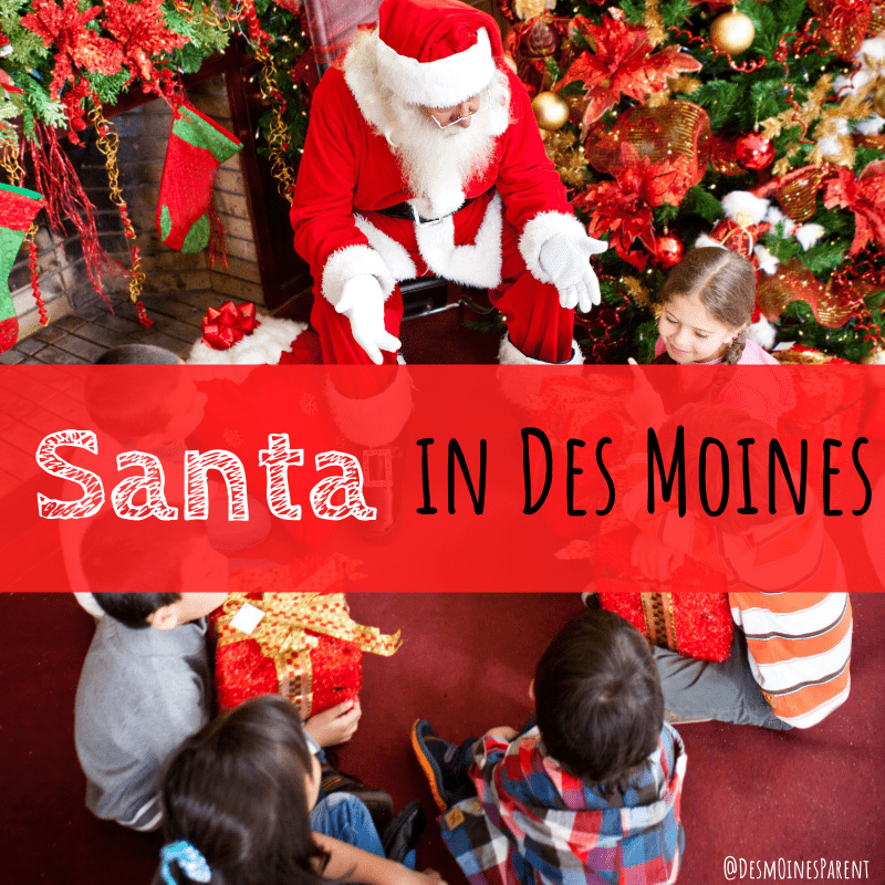 Santa in Des Moines