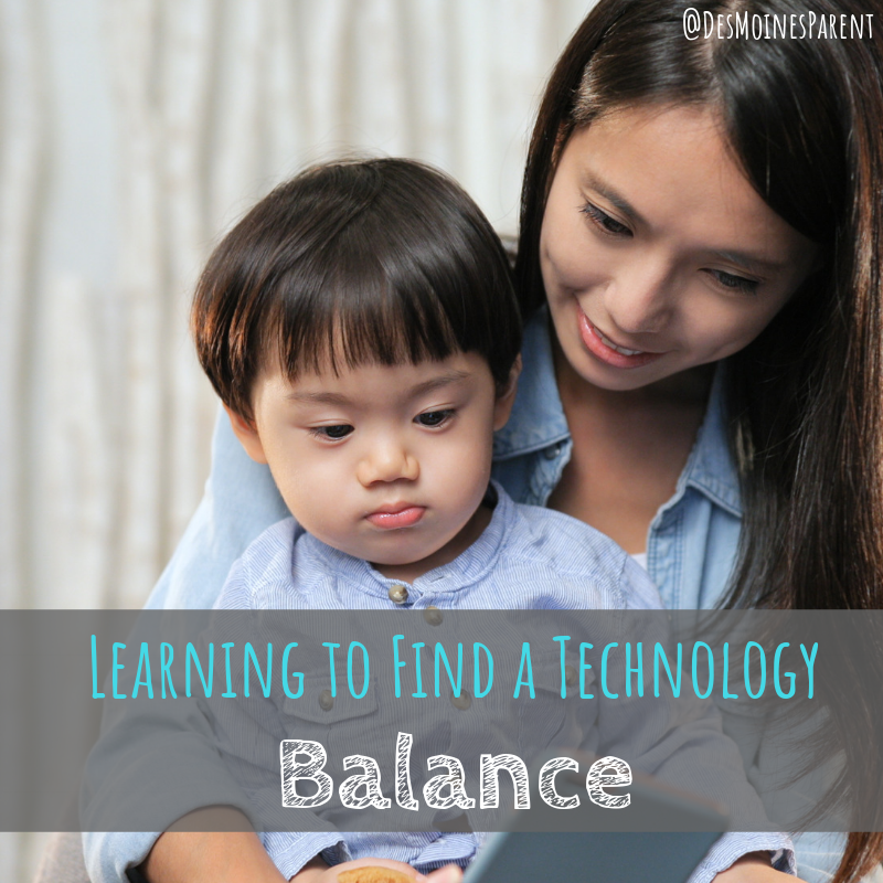 Balance, Motherhood, Technology