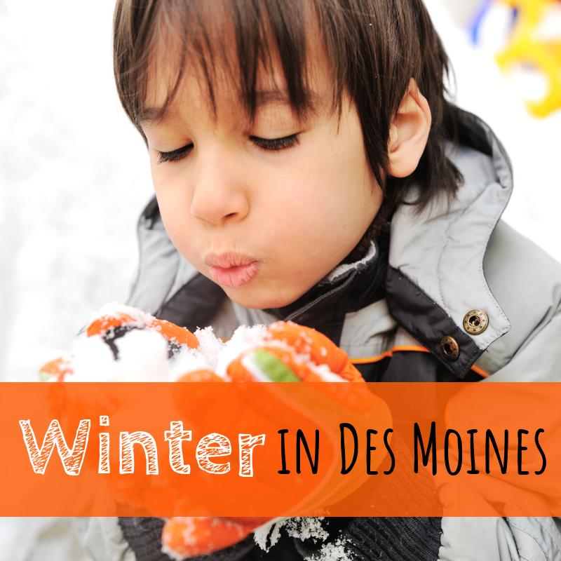 Winter, Des Moines, Iowa