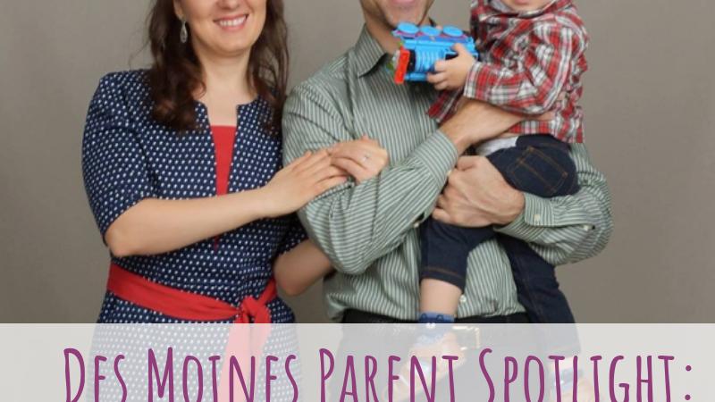 Des Moines Parent Spotlight: Victor Santos