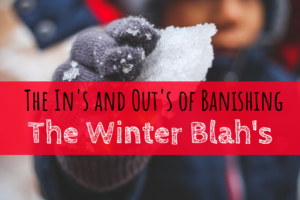 Winter Blah's. winter, ice, things to do