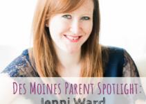 Des Moines Parent Spotlight, The Gingered Whisk, Jenni Ward
