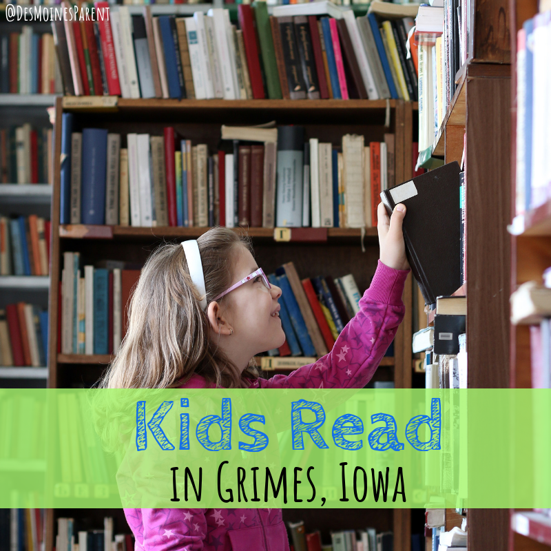 Kids Read, Grimes, Iowa