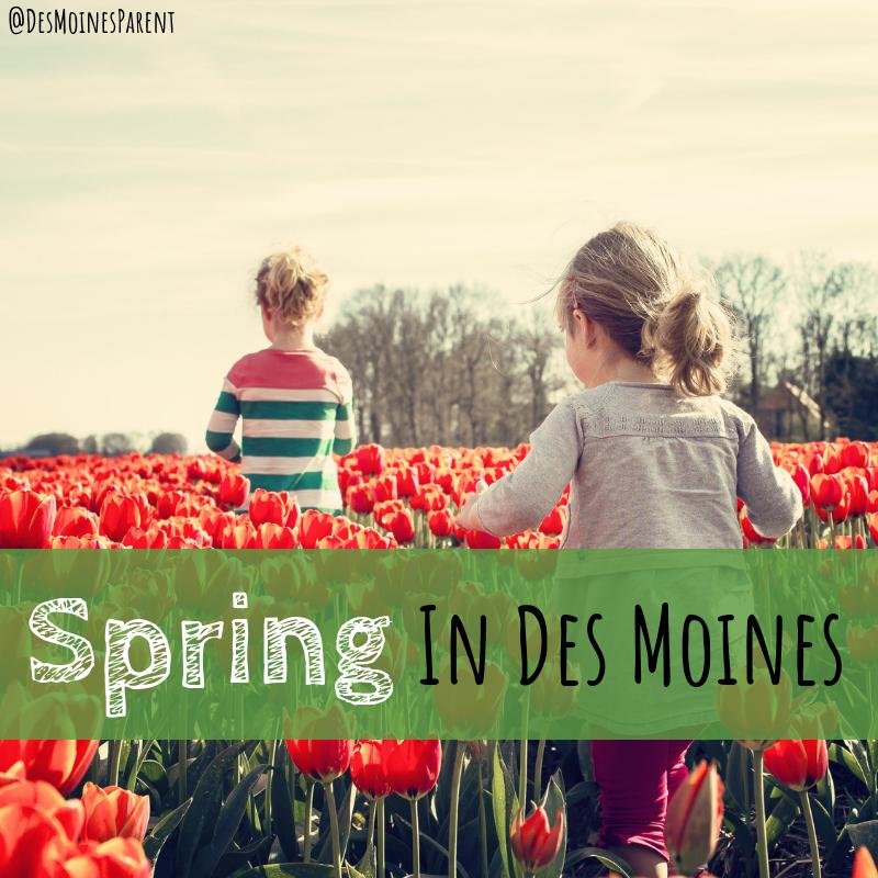 Spring, Des Moines, Iowa