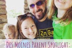 Des Moines Parent Spotlight, Amanda Arnold, Virtual Assistant