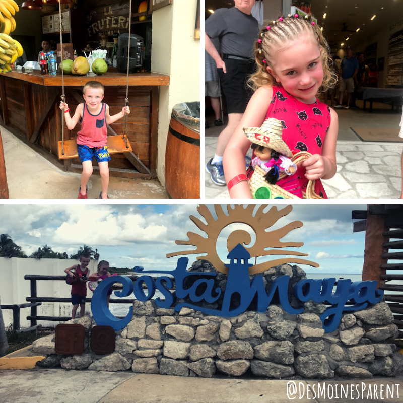 Cruise with Kids, family cruise, Royal Caribbean, Costa Maya