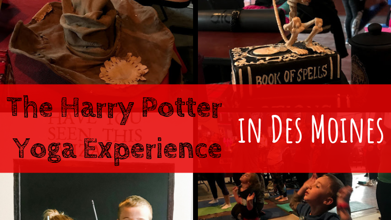 Harry Potter Yoga Experience in Des Moines