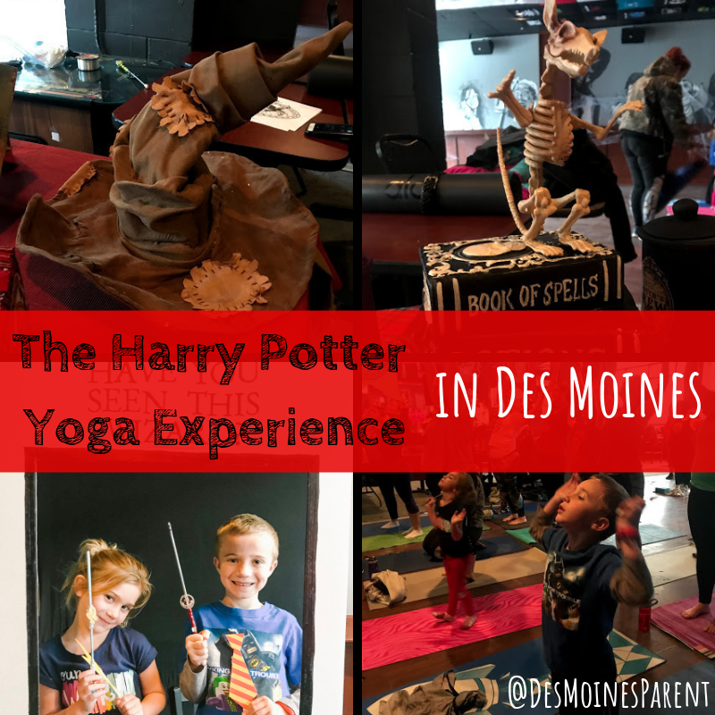 Harry Potter, yoga, Yoga with Jayla, Des Moines