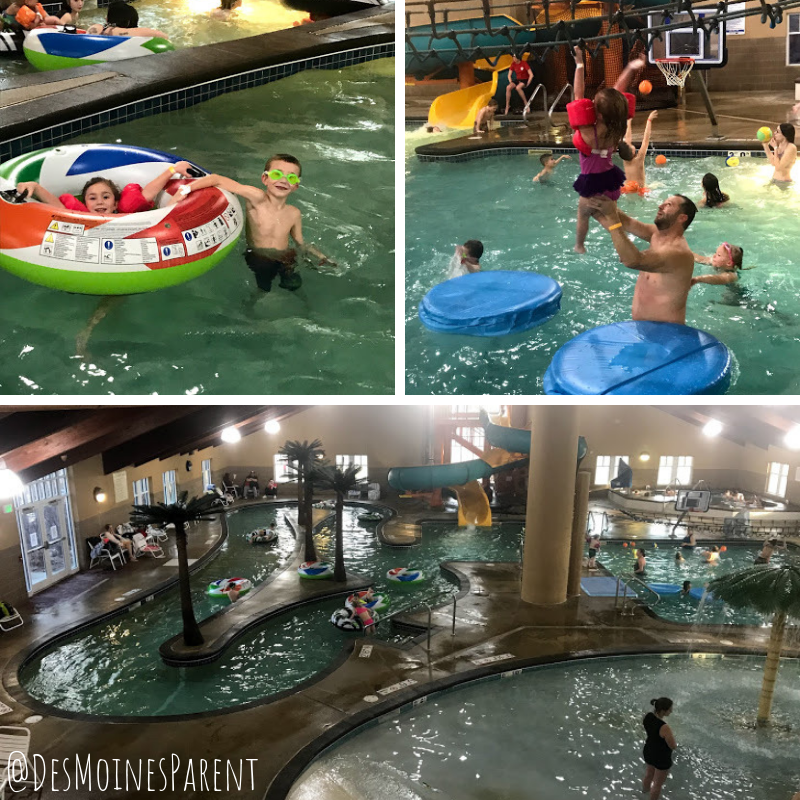 Honey Creek Resort, Rathbun Lake, Iowa, indoor aquatic park