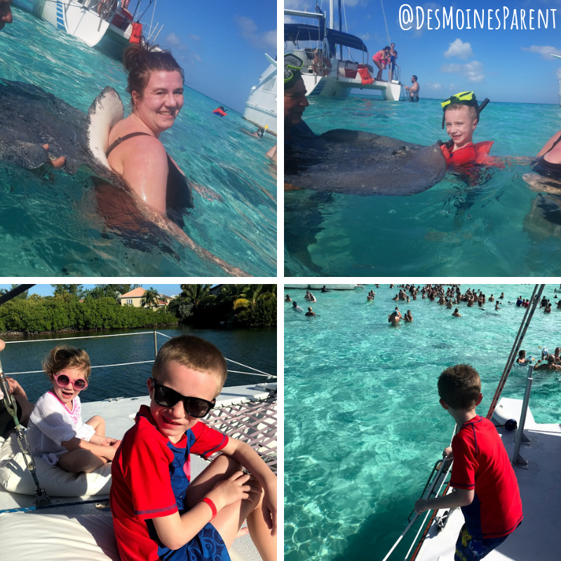 Cruise, cruising with kids, Royal Caribbean, Stingray City