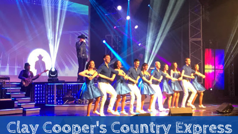 Clay Cooper's Country Express | A Triple Threat Branson Show