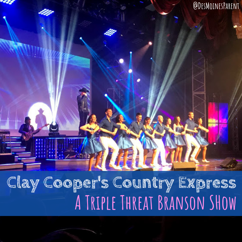 Clay Cooper's Country Express, Branson, Missouri, Branson show