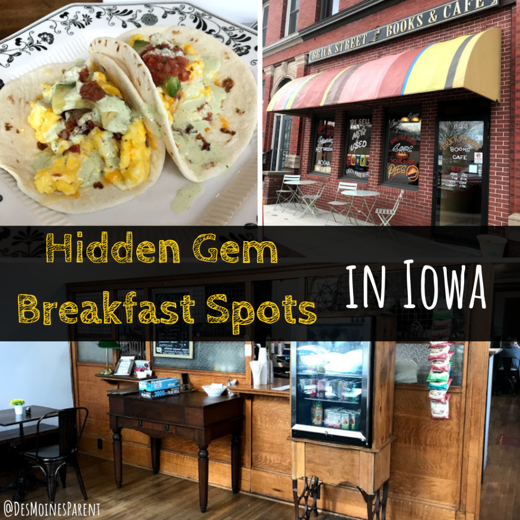 Hidden gem, breakfast, brunch, Des Moines, Iowa