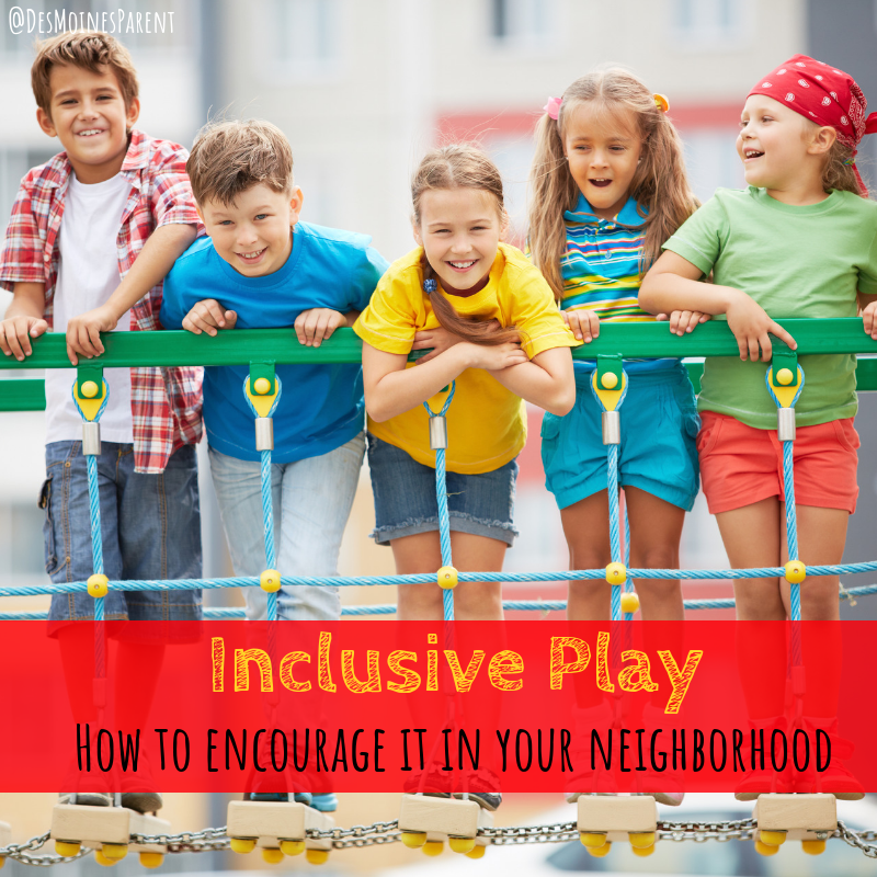 inclusive play, outdoors, kids, parenting, playgrounds, summer
