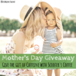 Mother's Day, giveaway, Scooter's Coffee, caffeine