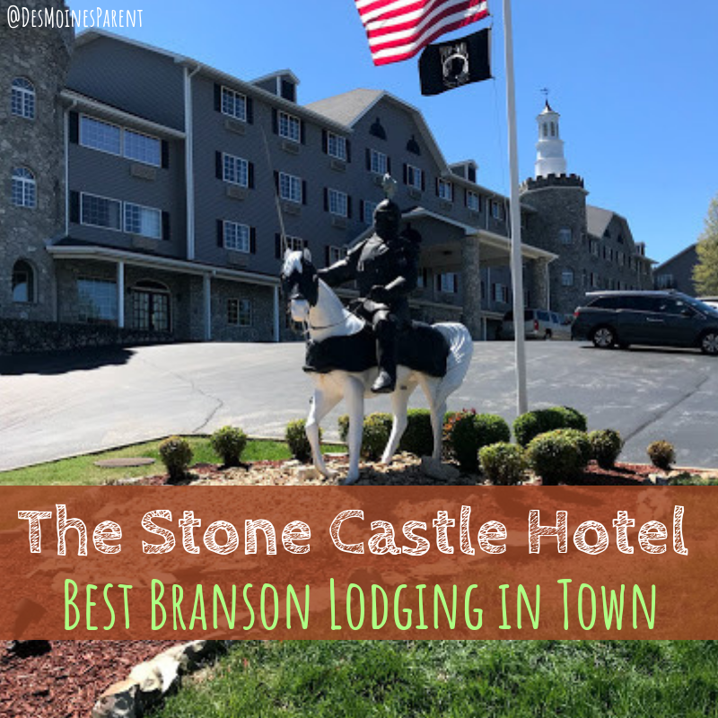 The Stone Castle Hotel, Branson, Missouri, lodging, hotel