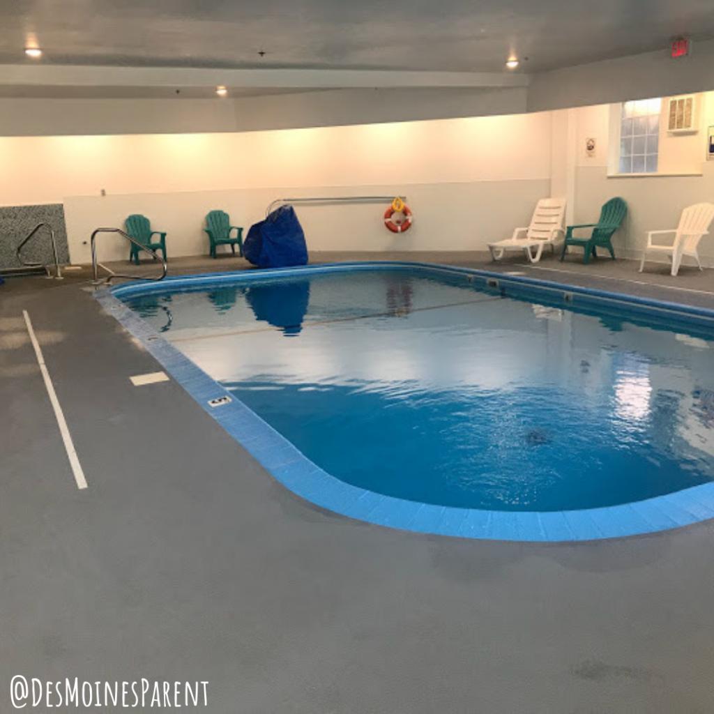 The Stone Castle Hotel, Branson, Missouri, lodging, pool