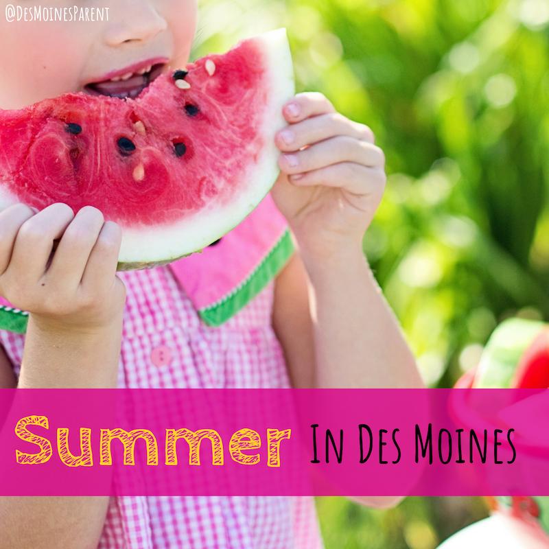 Summer, Des Moines, Iowa
