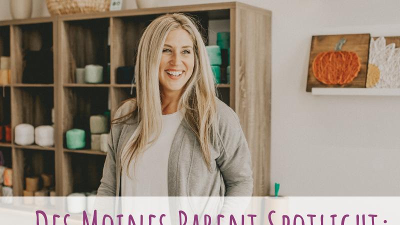 Des Moines Parent Spotlight: Becky Pospisal
