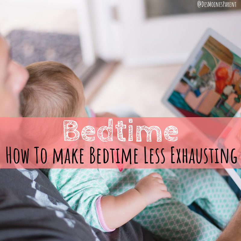 Bedtime, routine, tips, bedtime less exhausting, parenting