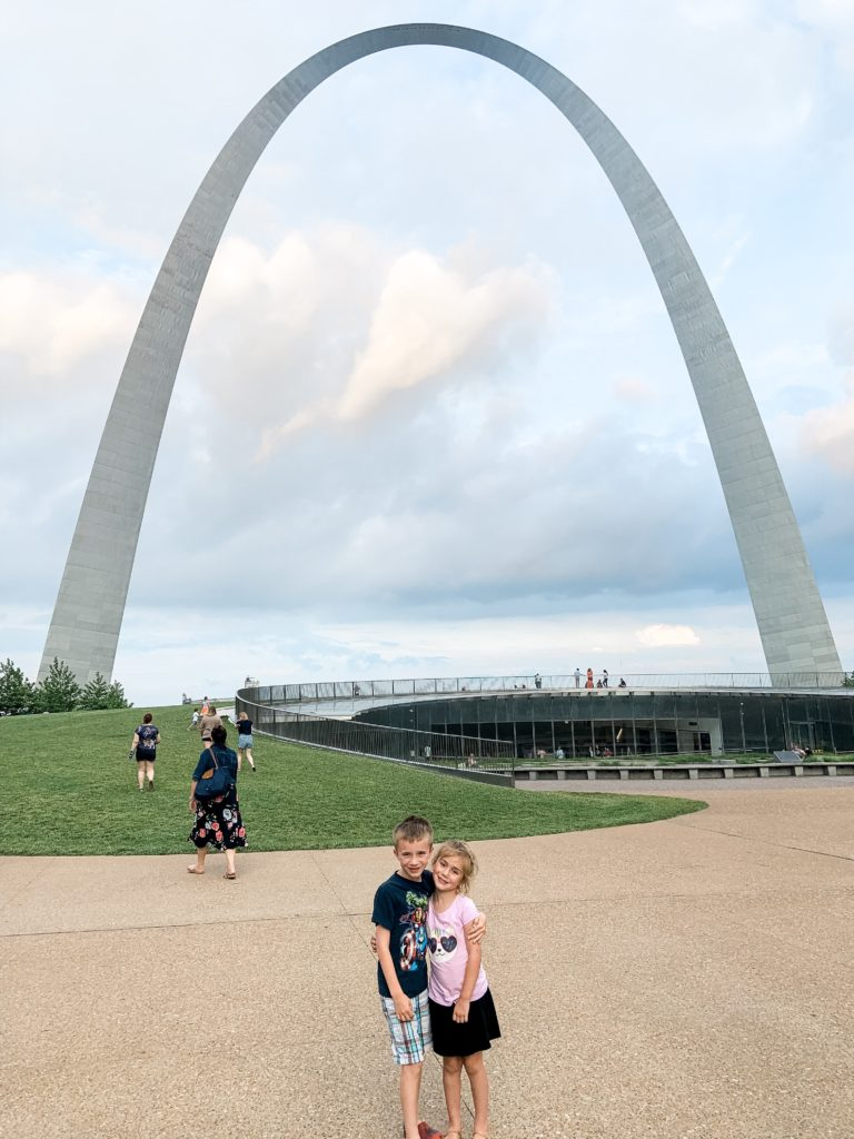 The Gateway Arch located in St. Louis, Missouri. Details and tips to plan before you go!
