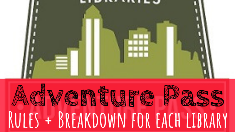 Iowa Adventure Passes | Each Library Broken Down