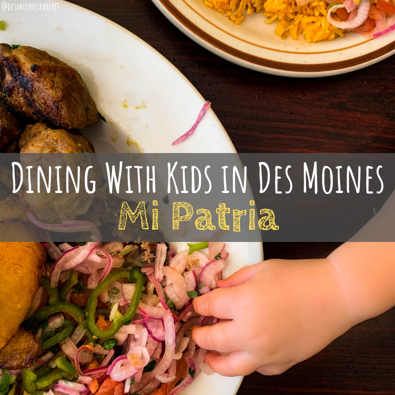 Dining with Kids in Des Moines: Mi Patria