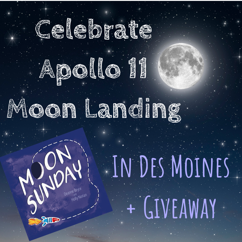 Moon Sunday, Apollo 11 Moon Landing, Des Moines, Iowa,