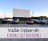 Valle Drive-In, drive-in, Newton, Iowa, movie theater, bucket list