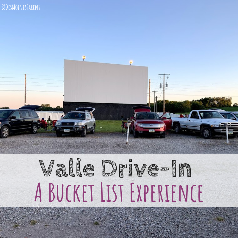 Valle Drive-In, drive-in, Newton, Iowa, movie theater, bucket list