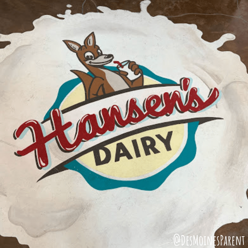 Hansen's Dairy Farm offering delicious dairy and kangaroos in Iowa.