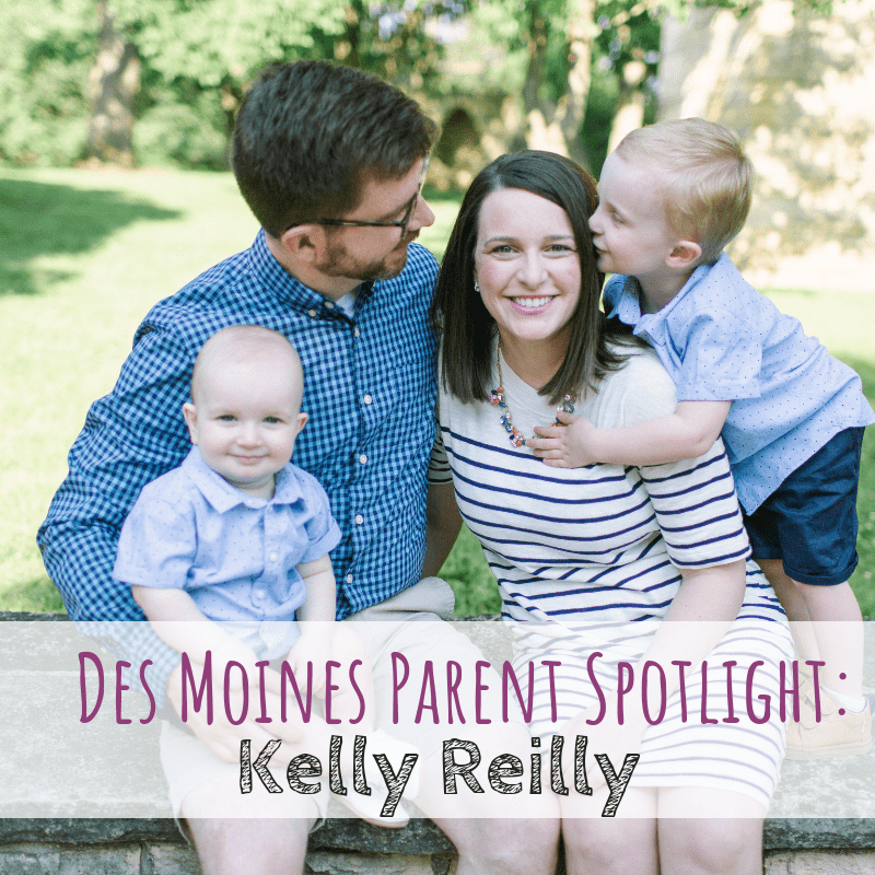 Des Moines Parent Spotlight: Kelly Reilly