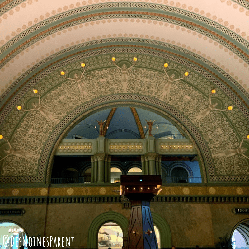 The Grand Hall at the St. Louis Union Station family entertainment complex in St. Louis, Missouri.