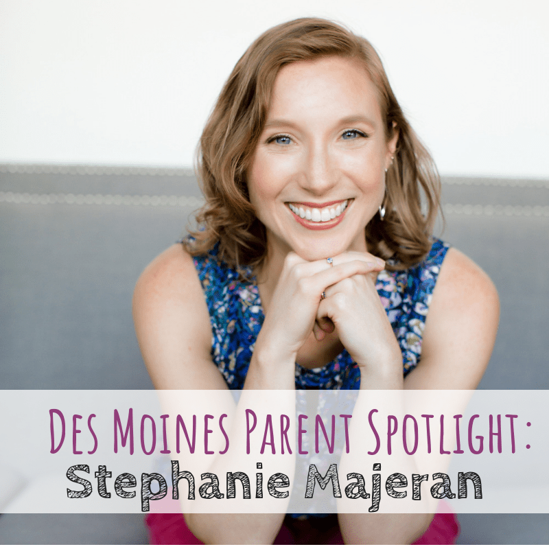 Des Moines Parent Spotlight, Stephanie Majeran, WellRun Results