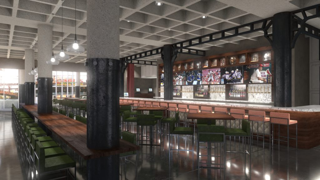 Behind the scenes look at the future Train Shed Restaurant at the St. Louis Union Station Family Entertainment Complex in St. Louis, Missouri.