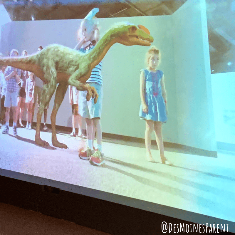 The Durham Museum located in downtown Omaha, Nebraska provides history, trains, and current exhibit all about dinosaurs.