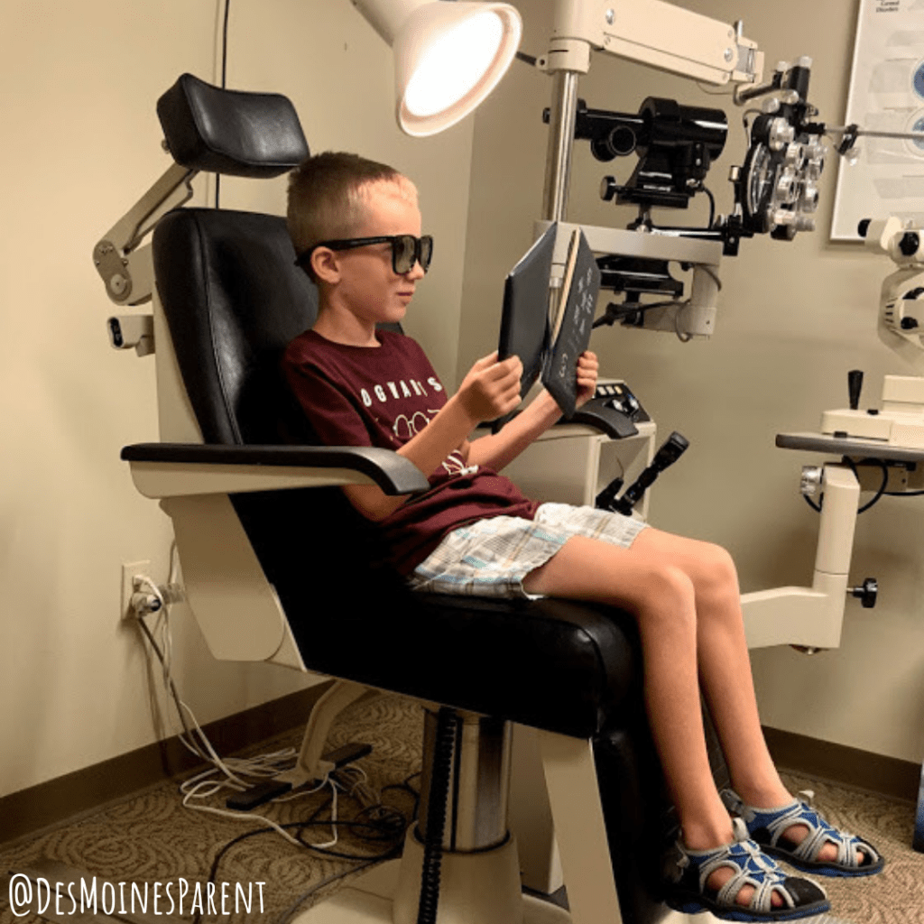 The importance of children's eye exams at Urbandale Eye Care.