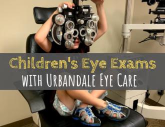 Urbandale Eye Care, children's eye exams, eye exams, Des Moines, Iowa, Urbandale, kids health, back to school
